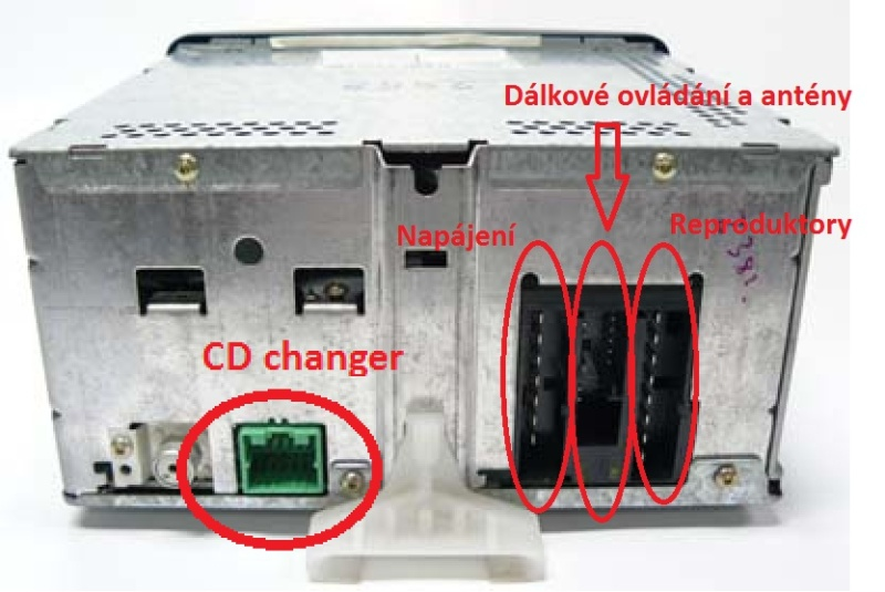 Schema Collegamento Autoradio Ford 6000 Cd : Radio ford focus cd transmiter subwoofer hudební